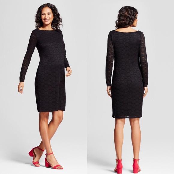Isabel For Target Dresses Isabel For Target Black Lace Maternity Dress Poshmark